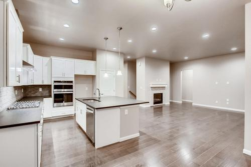 Kitchen-in-The Minturn-at-Ridge at Harmony Road-in-Windsor