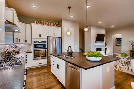 Kitchen-in-The Minturn- Meadows Collection-at-Prairie Star-in-Berthoud