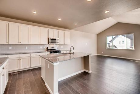 Kitchen-in-The Glendale II-at-Promontory at Todd Creek-in-Brighton
