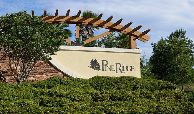 FL-JAX-PineRidge-Monument:Pine Ridge Plantation - Entrance