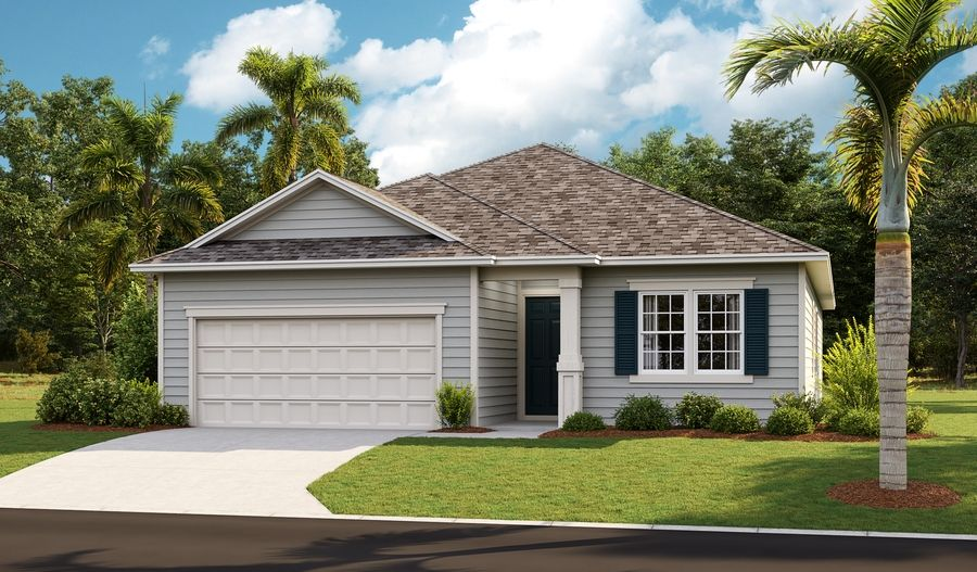 Exterior featured in the Alan By Richmond American Homes in Jacksonville-St. Augustine, FL