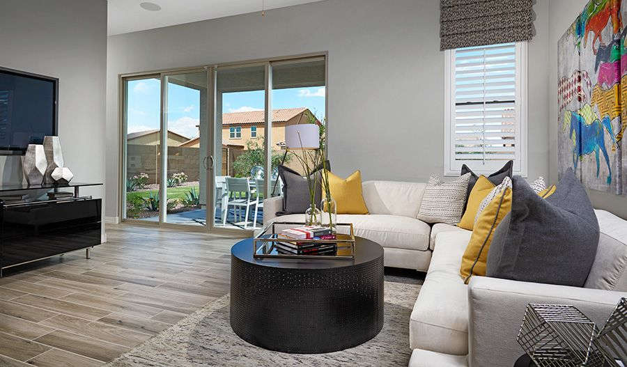 Living Area featured in the Onyx By Richmond American Homes in Jacksonville-St. Augustine, FL