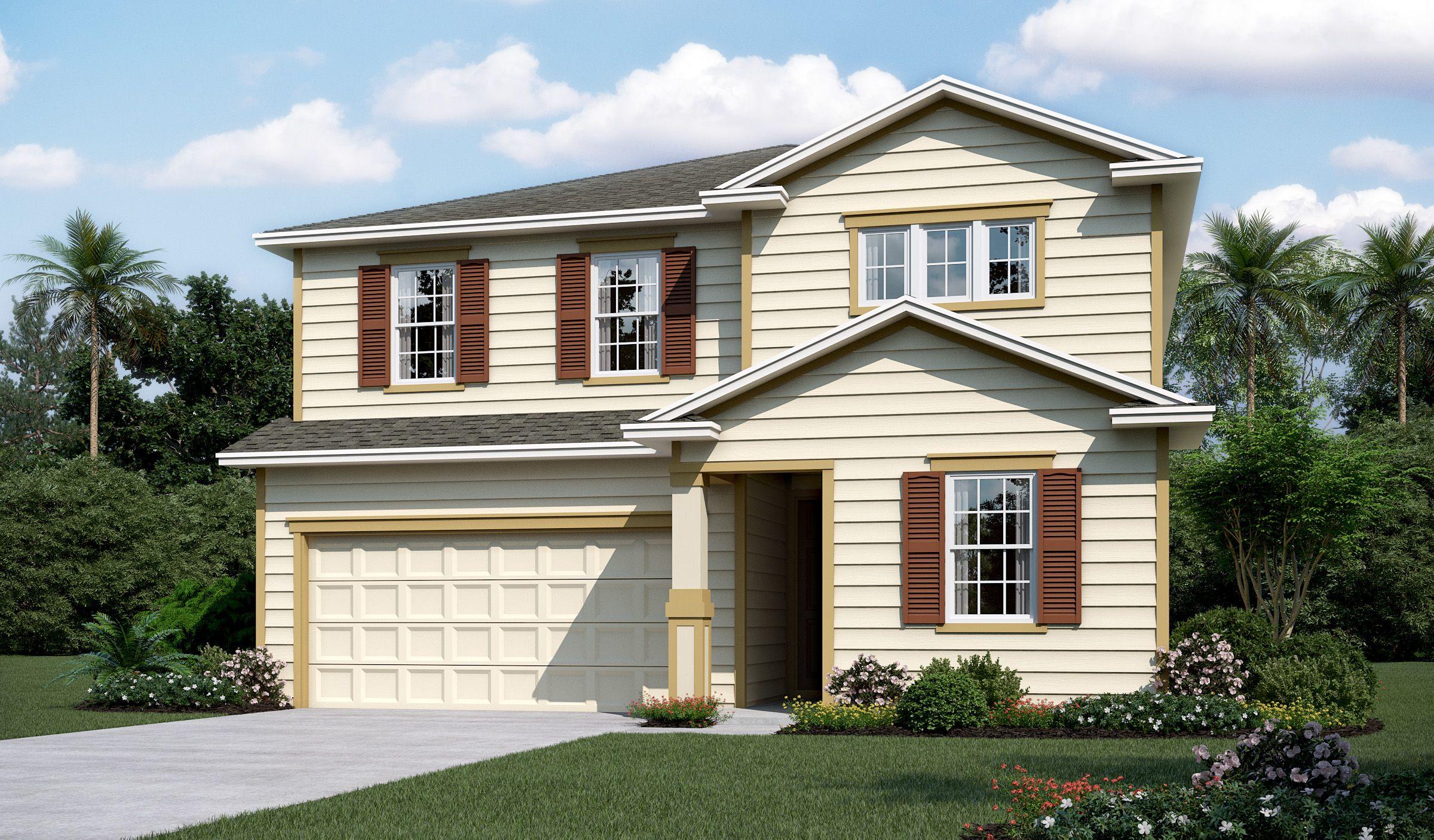 'Seasons at Trailmark' by Richmond American Homes - Jacksonville in Jacksonville-St. Augustine