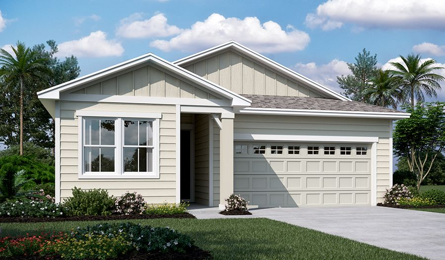 Exterior featured in the Larimar By Richmond American Homes in Jacksonville-St. Augustine, FL