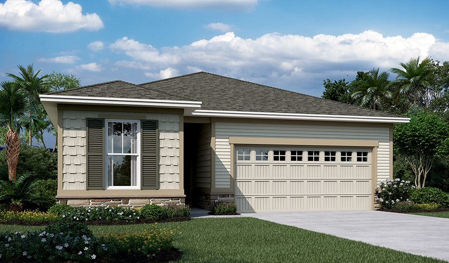 Exterior featured in the Jasper By Richmond American Homes in Jacksonville-St. Augustine, FL