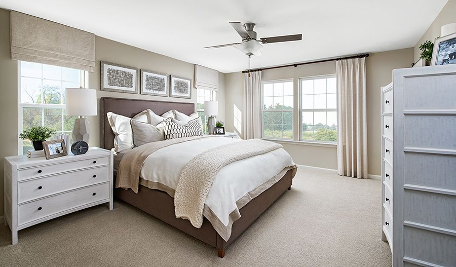 Bedroom featured in the Pearl By Richmond American Homes in Jacksonville-St. Augustine, FL