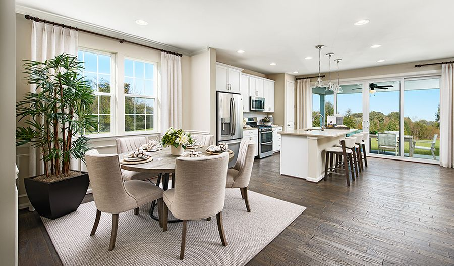 Living Area featured in the Pearl By Richmond American Homes in Jacksonville-St. Augustine, FL