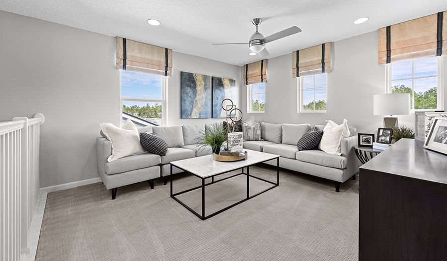 Living Area featured in the Moonstone By Richmond American Homes in Jacksonville-St. Augustine, FL