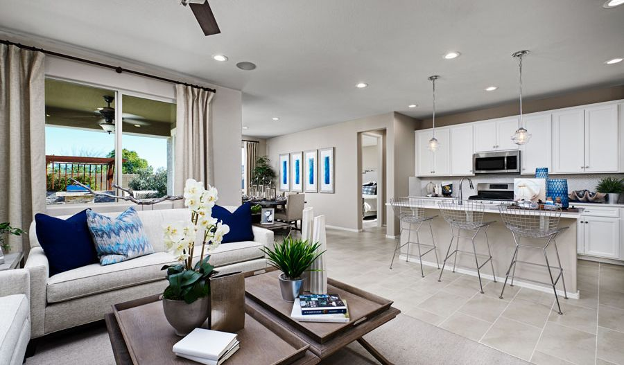 Living Area featured in the Azure By Richmond American Homes in Jacksonville-St. Augustine, FL
