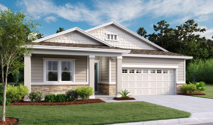 Exterior featured in the Slate By Richmond American Homes in Jacksonville-St. Augustine, FL