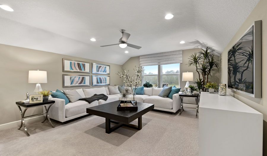 Living Area featured in the Appleby By Richmond American Homes in Jacksonville-St. Augustine, FL