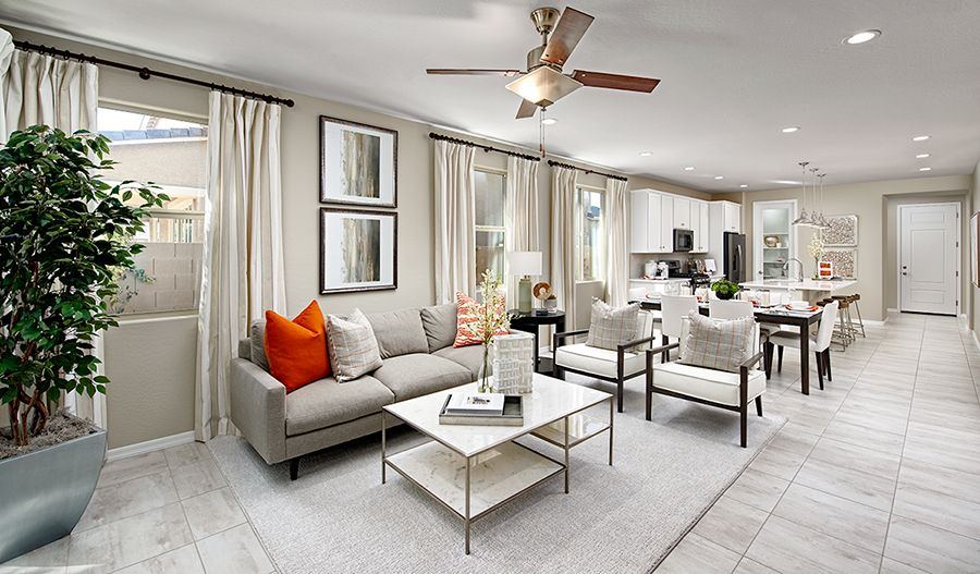 Living Area featured in the Sunstone By Richmond American Homes in Jacksonville-St. Augustine, FL