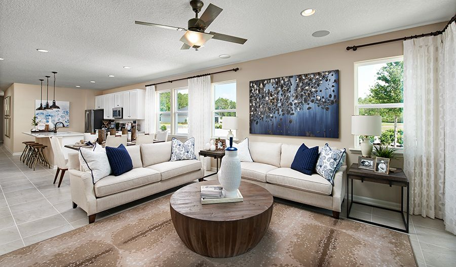 Living Area featured in the Sapphire By Richmond American Homes in Jacksonville-St. Augustine, FL