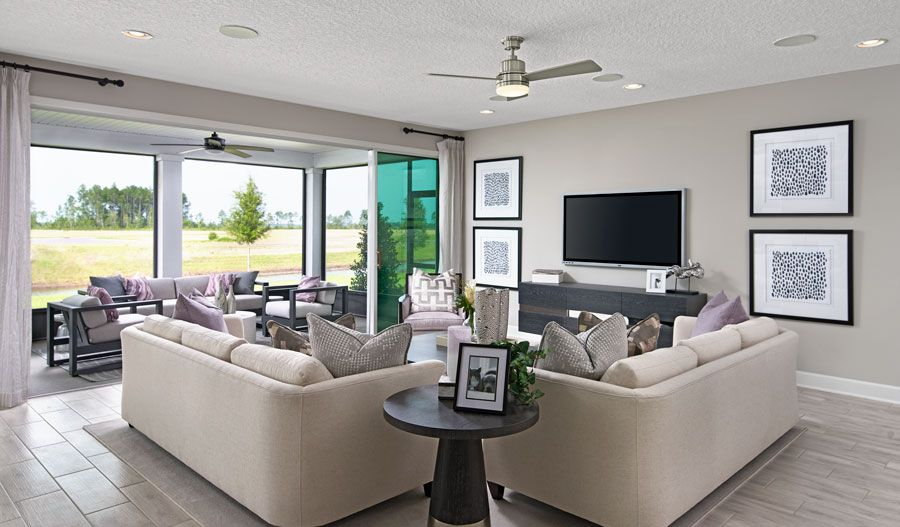 Living Area featured in the Daniel By Richmond American Homes in Jacksonville-St. Augustine, FL