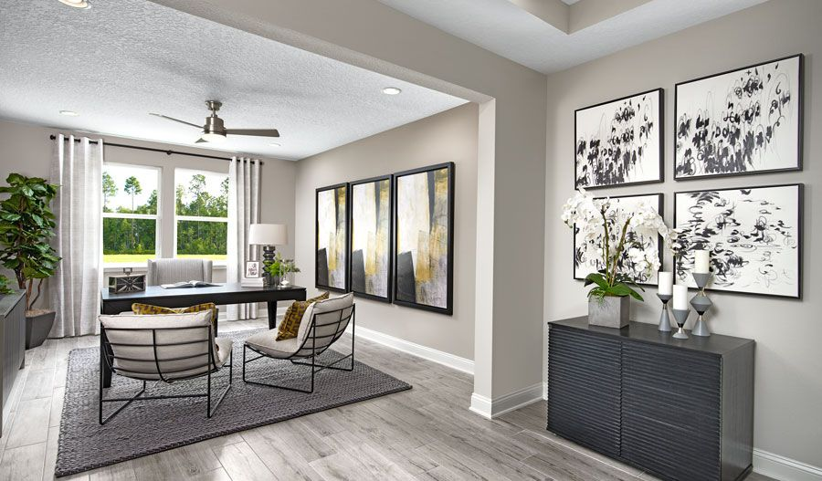 Living Area featured in the Harley By Richmond American Homes in Jacksonville-St. Augustine, FL