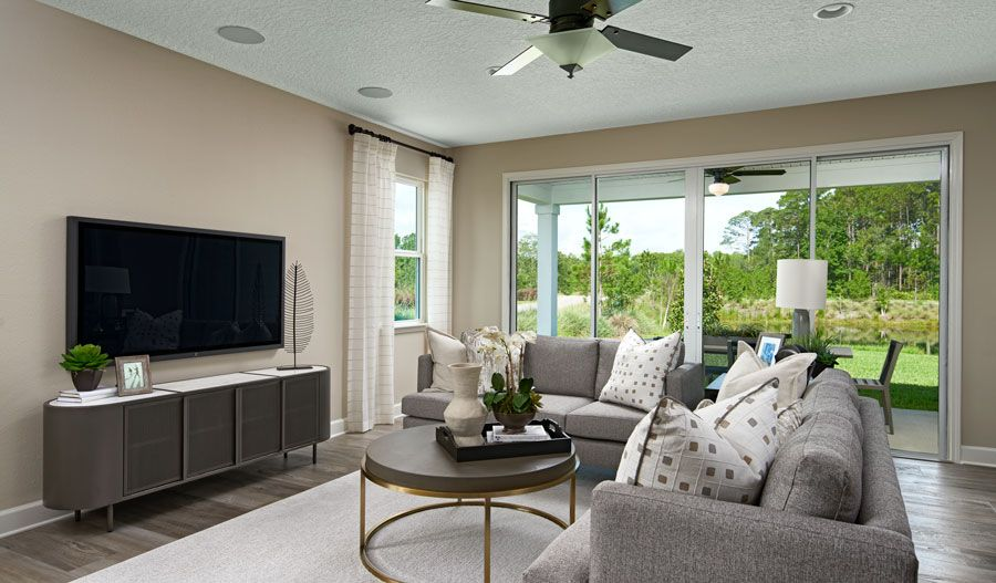 Living Area featured in the Slate By Richmond American Homes in Jacksonville-St. Augustine, FL