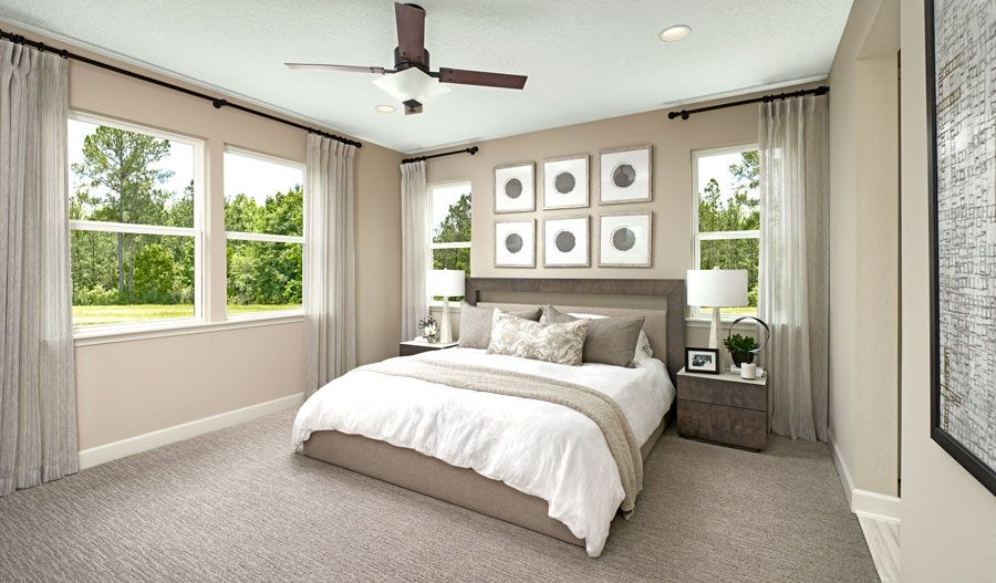 Bedroom featured in the Slate By Richmond American Homes in Jacksonville-St. Augustine, FL