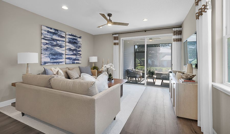 Living Area featured in the Beech By Richmond American Homes in Jacksonville-St. Augustine, FL