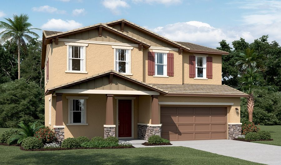 Exterior featured in the Hemingway By Richmond American Homes in Vallejo-Napa, CA