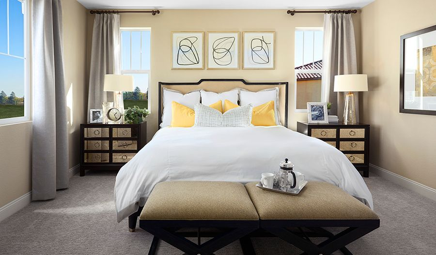 Bedroom featured in the Hemingway By Richmond American Homes in Vallejo-Napa, CA