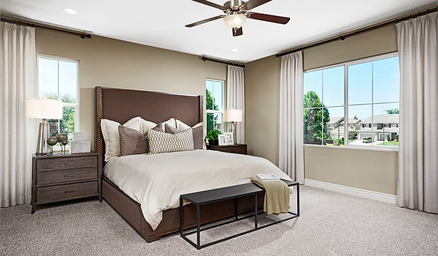Bedroom featured in the Andrea By Richmond American Homes in Oakland-Alameda, CA