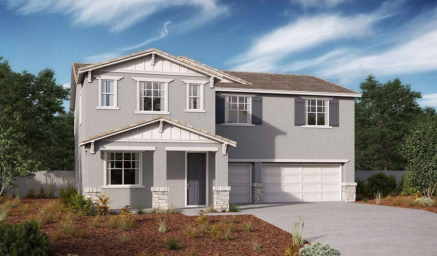 Exterior featured in the Peyton By Richmond American Homes in Stockton-Lodi, CA
