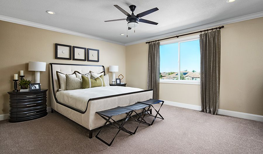 Bedroom featured in the Peyton By Richmond American Homes in Stockton-Lodi, CA