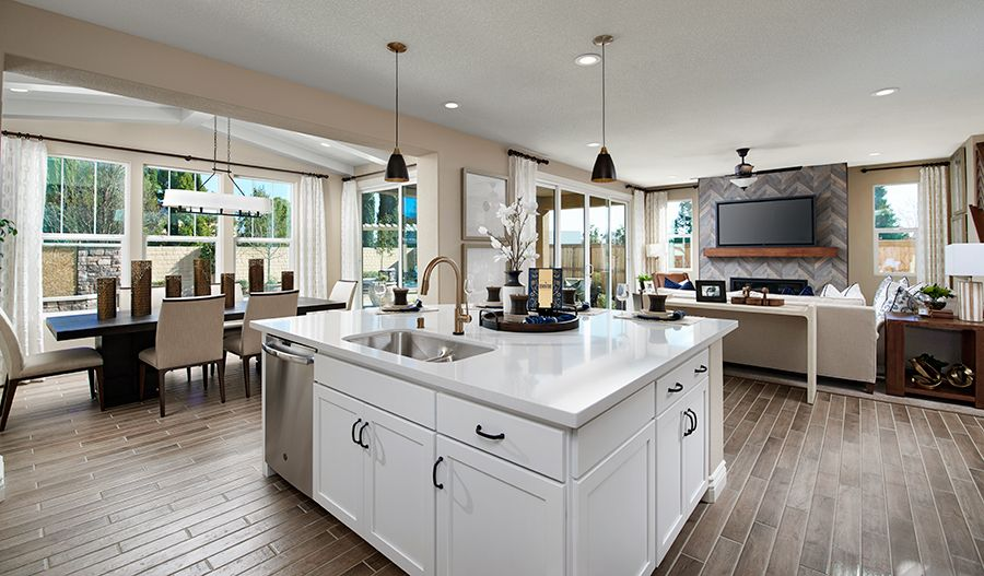 Kitchen featured in the Andrea By Richmond American Homes in Stockton-Lodi, CA