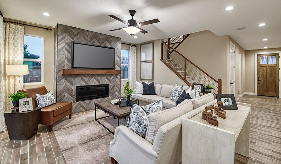 Living Area featured in the Andrea By Richmond American Homes in Stockton-Lodi, CA