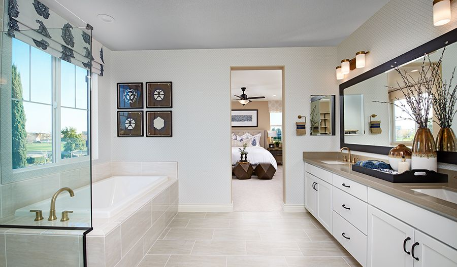 Bathroom featured in the Andrea By Richmond American Homes in Stockton-Lodi, CA