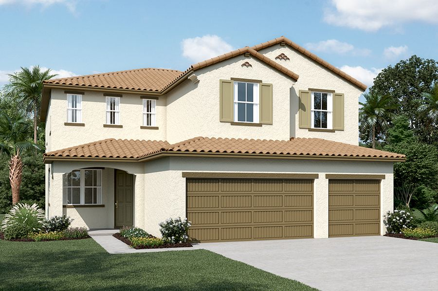 Exterior featured in the Seth By Richmond American Homes in Stockton-Lodi, CA