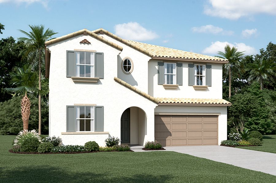 Exterior featured in the Andrea By Richmond American Homes in Stockton-Lodi, CA