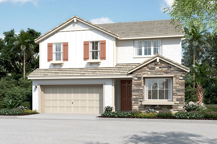 Exterior featured in the Stafford By Richmond American Homes in Santa Rosa, CA