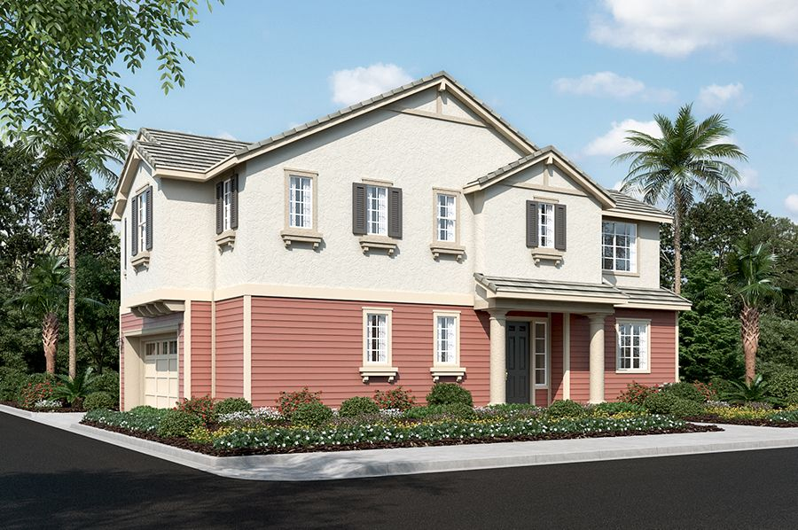 Exterior featured in the Lamont By Richmond American Homes in Santa Rosa, CA
