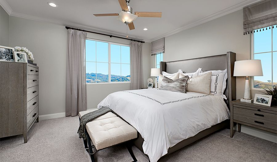 Bedroom featured in the Lamont By Richmond American Homes in Santa Rosa, CA