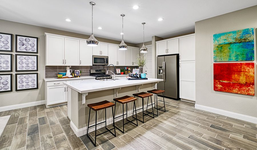 Kitchen featured in the Folbrook By Richmond American Homes in Santa Rosa, CA