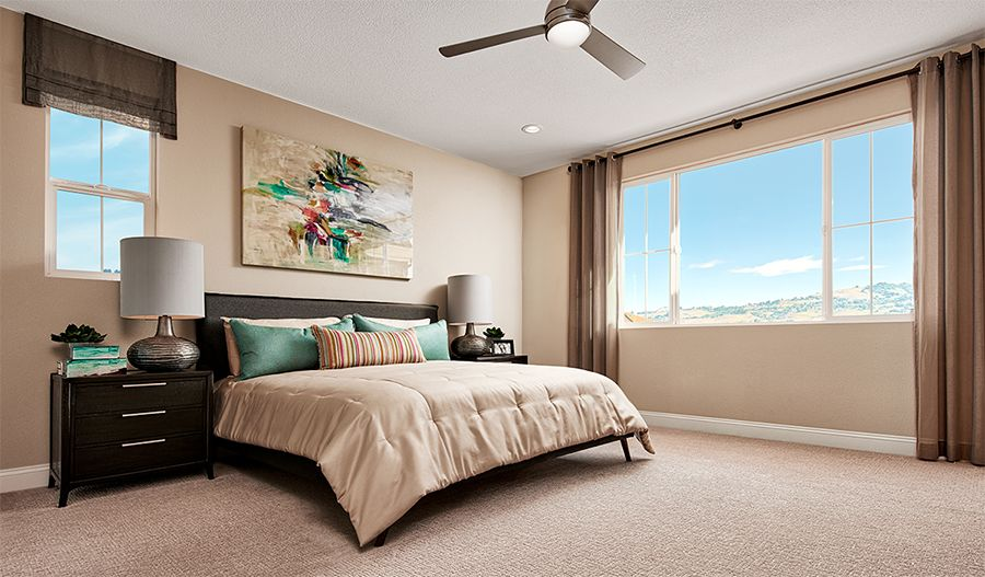 Bedroom featured in the Folbrook By Richmond American Homes in Santa Rosa, CA