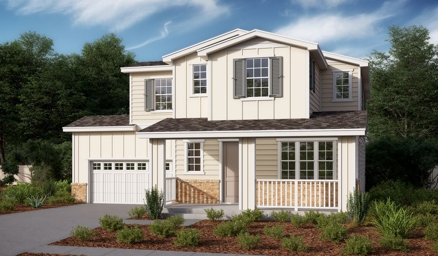 Exterior featured in the Clayton By Richmond American Homes in Santa Rosa, CA