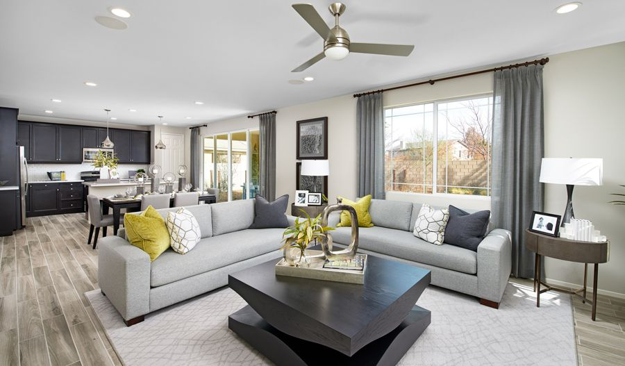 Living Area featured in the Tourmaline By Richmond American Homes in Stockton-Lodi, CA