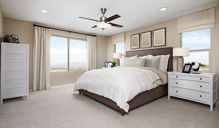 Bedroom featured in the Pearl By Richmond American Homes in Stockton-Lodi, CA