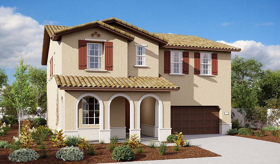 Exterior featured in the Andrea By Richmond American Homes in Oakland-Alameda, CA