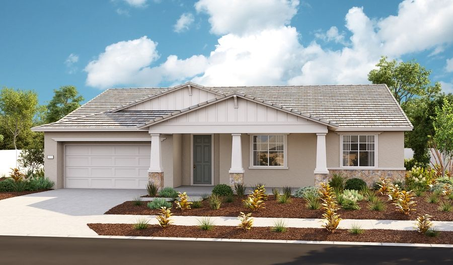 Exterior featured in the Janette By Richmond American Homes in Stockton-Lodi, CA