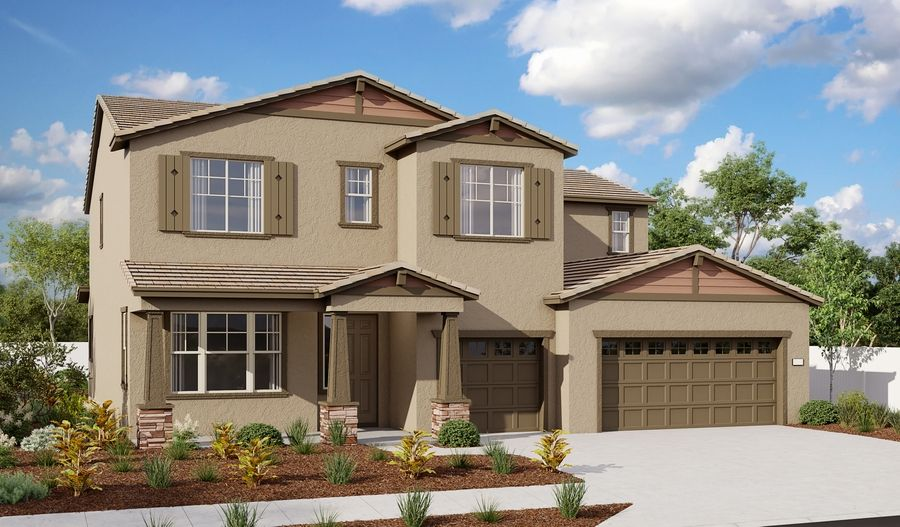 Exterior featured in the Dillon II By Richmond American Homes in Vallejo-Napa, CA