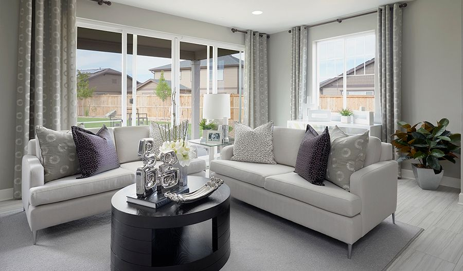 Living Area featured in the Amethyst By Richmond American Homes in Stockton-Lodi, CA