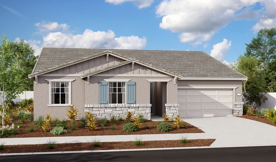 Exterior featured in the Delaney By Richmond American Homes in Stockton-Lodi, CA