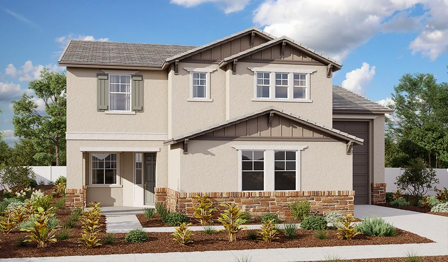 Exterior featured in the Pearce By Richmond American Homes in Stockton-Lodi, CA
