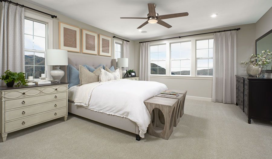 Bedroom featured in the Cartwright By Richmond American Homes in Santa Rosa, CA