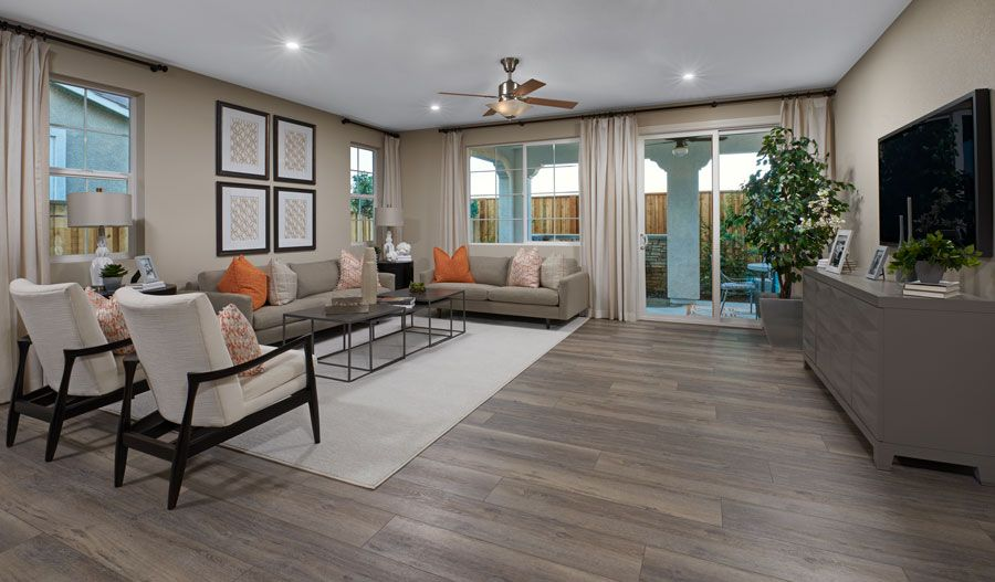 Living Area featured in the Sarah By Richmond American Homes in Oakland-Alameda, CA