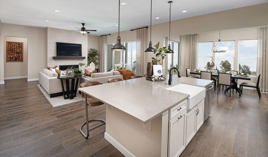 Living Area featured in the Decker By Richmond American Homes in Stockton-Lodi, CA