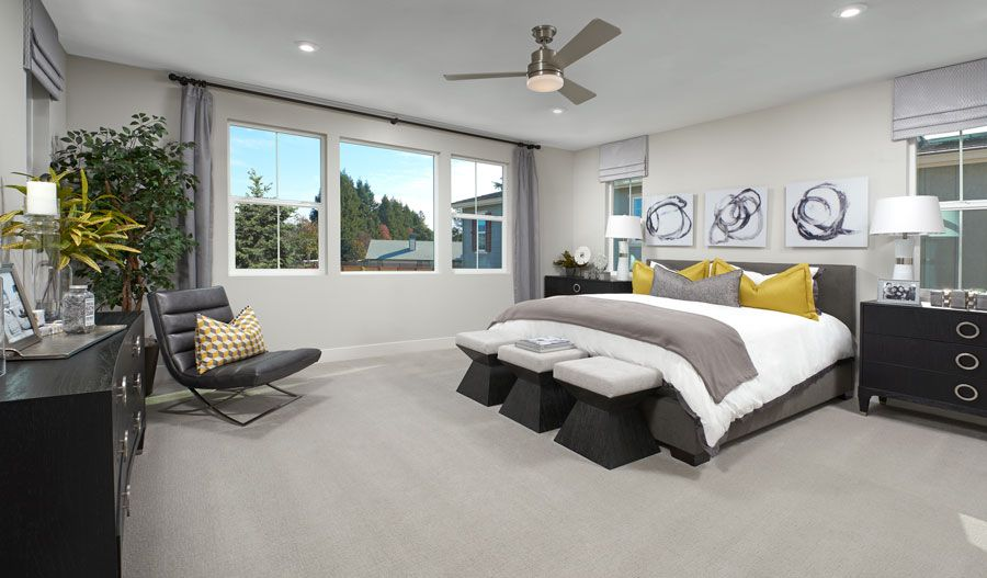Bedroom featured in the Clayton By Richmond American Homes in Santa Rosa, CA